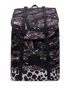 Herschel Retreat Backpack Tiger Camoleopard 0