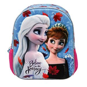 Karactermania Frozen 2 Look Mochila 3d Pequena Borsa Unisex Bambini Blue One Size 0