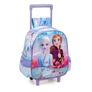 Zaino Asilo Con Trolley Frozen Ii 2 Ruote Manico Allungabile 51416c 0