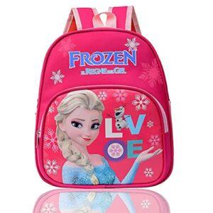 Zaino Scuola Elementare Bambina Wents Frozen Zainetto Medio Per Bambini Con Principessa Elsa Scuola Materna Con Stampa Frozen Compleanno Bimba 3 Anni In Su 0