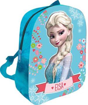 Mc Zaino Peluche 3d Frozen Zainetto Per Bambini 32 Cm Azzurro 0