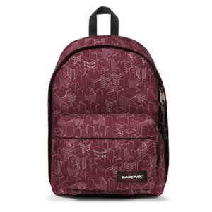 Eastpak Out Of Office Zaino Casual 27 Litri Rosso Merlot Blocks 0