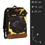 Zaino Invicta Utility Pack Camouflage Giallo 20 Lt Porta Laptop 11 Tempo Libero Office 0 0