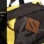 Zaino Invicta Utility Pack Camouflage Giallo 20 Lt Porta Laptop 11 Tempo Libero Office 0 2
