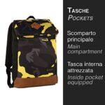 Zaino Invicta Utility Pack Camouflage Giallo 20 Lt Porta Laptop 11 Tempo Libero Office 0 3