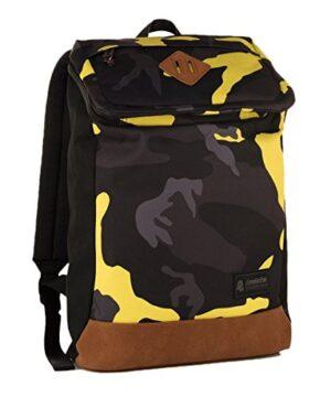 Zaino Invicta Utility Pack Camouflage Giallo 20 Lt Porta Laptop 11 Tempo Libero Office 0